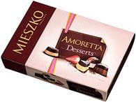 Mieszko Amoretta Desserts - chocolate pralines 268 gr., 12/cs