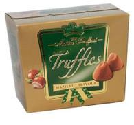 Maitre Truffout fancy hazelnut truffles..200 gr., 12/cs,
