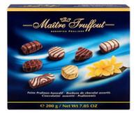 Maitre Truffout assorted  pralines 200 gr., 15/cs