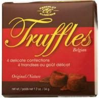 Chocolat Classique truffles 34 gr. 24/cs.,