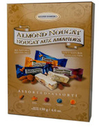 Golden Bonbon Assorted almond nougat 130 gr., 18/cs