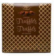 Chocolat Classique Elegant Truffles - Brown/Gold box 200 gr., 10/cs