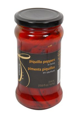 Allessia piquillo red peppers 314 gr., 12/cs
