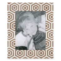 "White & natural 8x10 photo frame (11.25""x13.75"")"