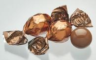 "Caramel Esta Truffles 1Kg. (2.2 lb.) bag about 95 pcs per Kg. ""gourmet gift basket Bulk Chocolate"""