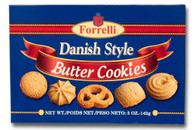 Forrelli Danish style butter cookies 142 gr., 24/cs