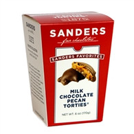 Sanders Chocolate 170 gr.,12/cs - Milk chocolate Pecan Torties