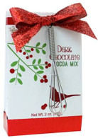Too Good Gourmet Glamour Dark chocolate cocoa mix (red) 28 gr., 24/cs