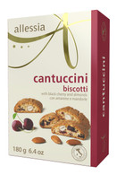 Allessia Black Cherry & almond cantuccini 180 gr., 12/cs