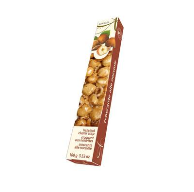 Allessia Crocante - Hazelnut Cluster Crisp 100 gr., 21/cs