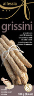 Allessia Grissini/breadsticks Sesame 100 gr., 12/cs