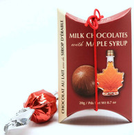 Made Milk chocolate truffles with maple 20 gr., 24/cs