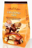 Maitre Truffout Grazioso chocolate bags (individually packaged mini bars) - Cappuccino 108 gr., 14/cs