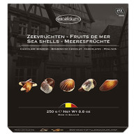 Chocolate Sea Shells - Excelcium 250 gr., 12/cs