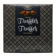 Chocolat Classique Truffles elegance Black/White Box 200 gr. 10/cs