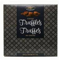 Chocolat Classique Truffles elegance Black/White Box 200 gr. 10/cs