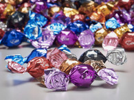 Assorted flavors Esta Truffles 1Kg. (2.2 lb.) bag about 95 pcs per Kg.  Bulk chocolate, gourmet food supplies