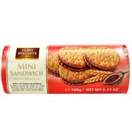 Feiny mini sandwich cookies - chocolate 180 gr., 30/cs