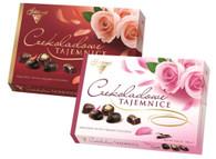 Solidarnocs chocolate secrets 238 gr., 6/cs (2 colour roses)