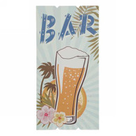 "Beer BAR wall plaque 11.5""X23""H"