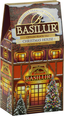 Basilur Exclusive premium Quality Ceylon Black Tea (15 bags/box) - Christmas House 24/cs