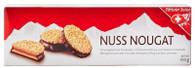Patissier Suisse Nuss Nougat Meringue biscuits 100 gr., 10/cs