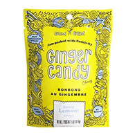 Gem Gem Ginger Candy - Lemon 100 gr., 12/cs