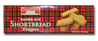 McGinnis Scottish style shortbread fingers 150 gr., 24/cs