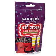 Sanders Elf Bites - Dark chocolate sea salt caramel 106 gr., 12/cs