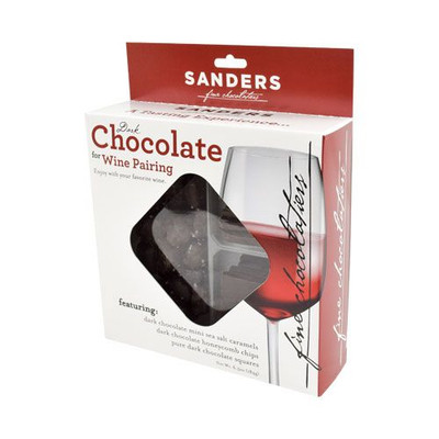 Sanders Dark chocolate for WINE PAIRING 184 gr., 6/cs