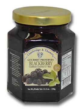 Cambridge & Thames Gourmet Preserves - Blackberry 340 gr., 12/cs