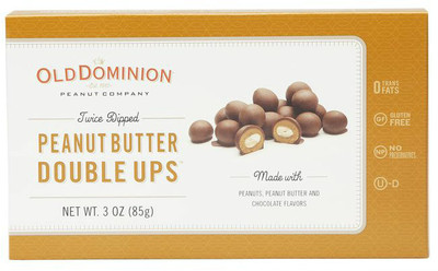 Old Dominion peanut butter double ups 85 gr., 12/cs