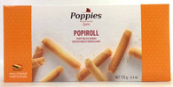 Poppies Popiroll - Crispy rolled cookies 125 gr., 12/cs