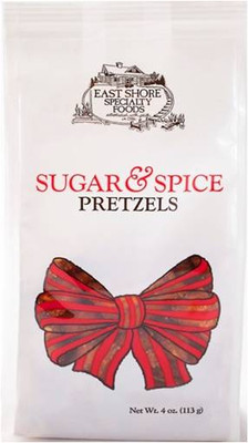East Shore Sugar & Spice Dipping Pretzels 113 gr., 18/cs