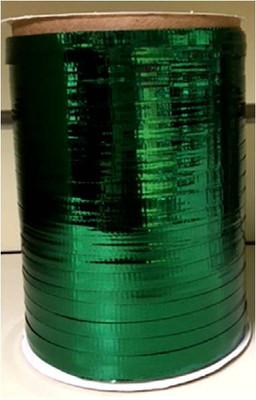 "Green metallic Curling Ribbon 3/16"" x 300 FT (100 yards)"