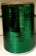 "Green metallic Curling Ribbon 3/16"" x 300 FT (100 yards)"