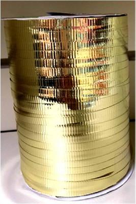 "Gold metallic Curling Ribbon 3/16"" x 300 FT (100 yards)"