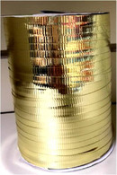 "Gold metallic Curling Ribbon 3/16"" x 300 FT (100 yards)"