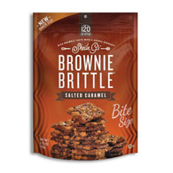 Sheila G's Brownie Brittle – Bite Size Salted Caramel 78 gr. 8/cs