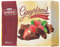 Lambertz gingerbread with strawberry 200 gr.,  16/cs
