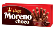 Flis Happy MORENO Chocolate rolls with chocolate filling 120 gr., 14/cs