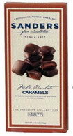 Sanders Chocolate 106 gr.,12/cs - milk chocolate caramel