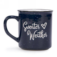 "Ceramic mug - Sweater Weather 3.5""x4""H"