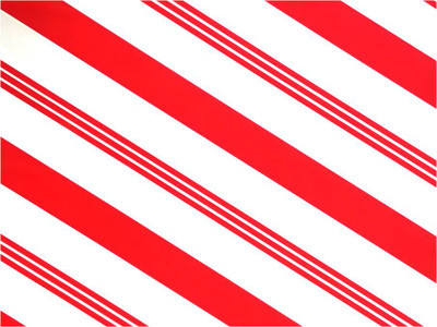 """Candy Stripe Printed Cellophane roll on clear 40""""x100'"""