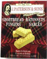 Paterson Shortbread fingers 380 gr., 13/cs