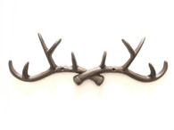 "Cast iron elk hook/hanger 14""x2""x4.25""H (min 4)"