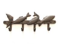 """Cast iron Fish hooks 13""""x1""""x5""""H (min 2)"""
