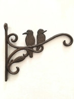 "Cast iron Hummingbirds hanger 9""x1.25""x8""H (min 4)"