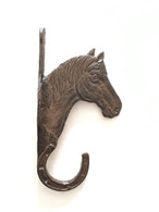 "Cast iron Horse Head hanger 5""x2""x9""H (min 4)"
