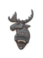 "Cast iron Moose bottle opener 4.25""x1.25""x4.25""H (min 8)"